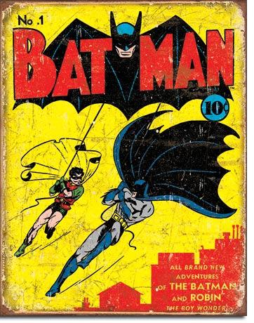 Metal Sign - Bat Man Vintage