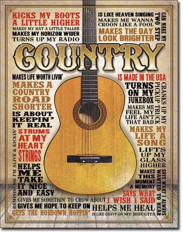 Metal Sign - County Made in USA