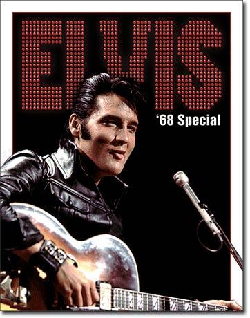 Metal Sign - Elvis 68 Special