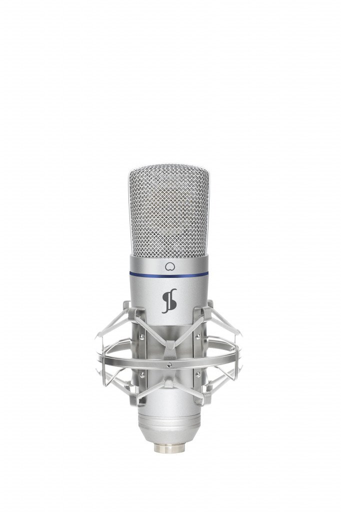 Stagg SUSM50 Studio Grade Big Capsule Condenser USB Microphone w/Shock Mount