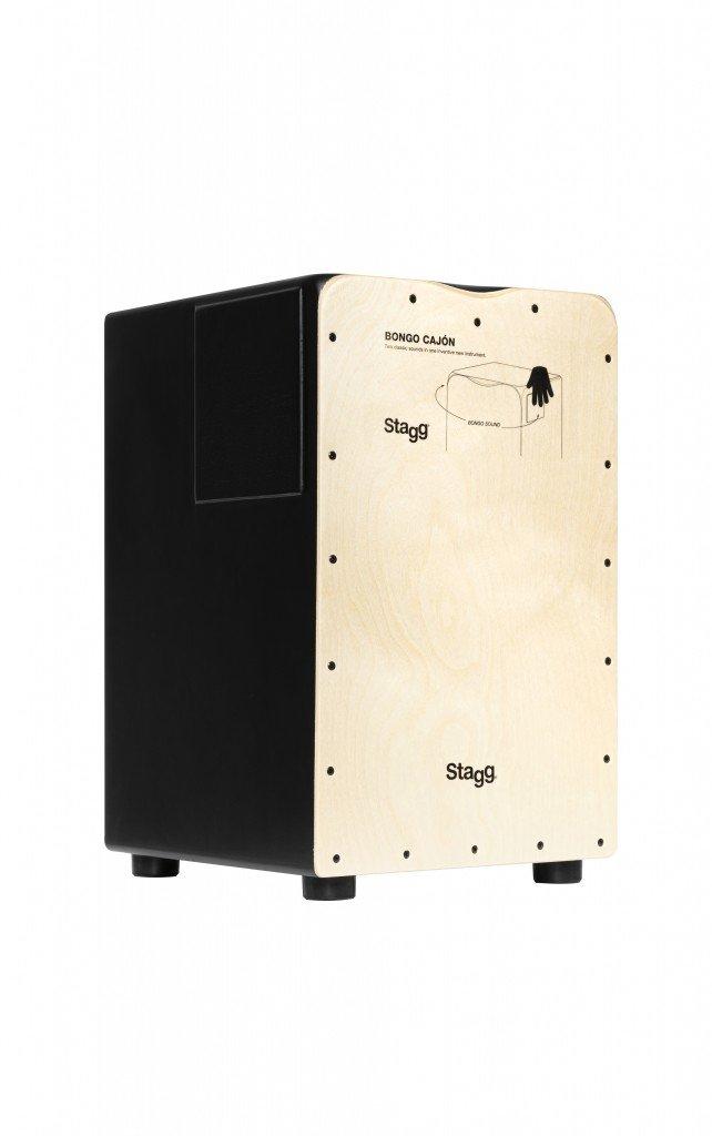 Stagg Standard Cajon with Bongo Side - CAJ-BONGO-N
