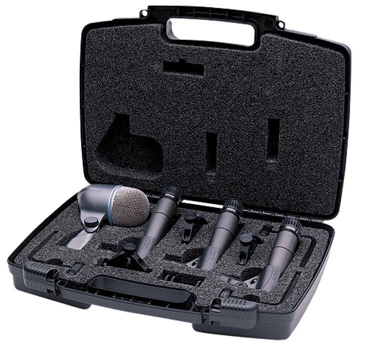 Shure DMK57-52 4 PIECE DRUM MICROPHONE KIT