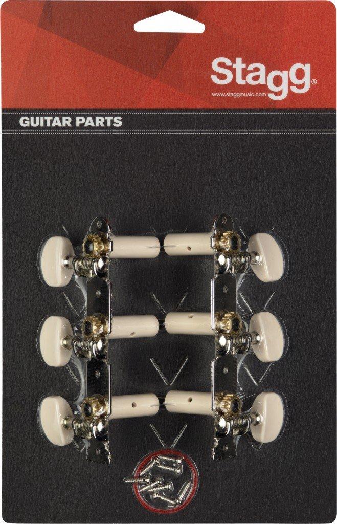 STAGG KG352 MACHINE HEADS FOR CLASSICAL GUITAR