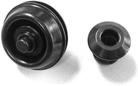 Dunlop 2PSLS033BK Straplok Dual Design Strap, Black