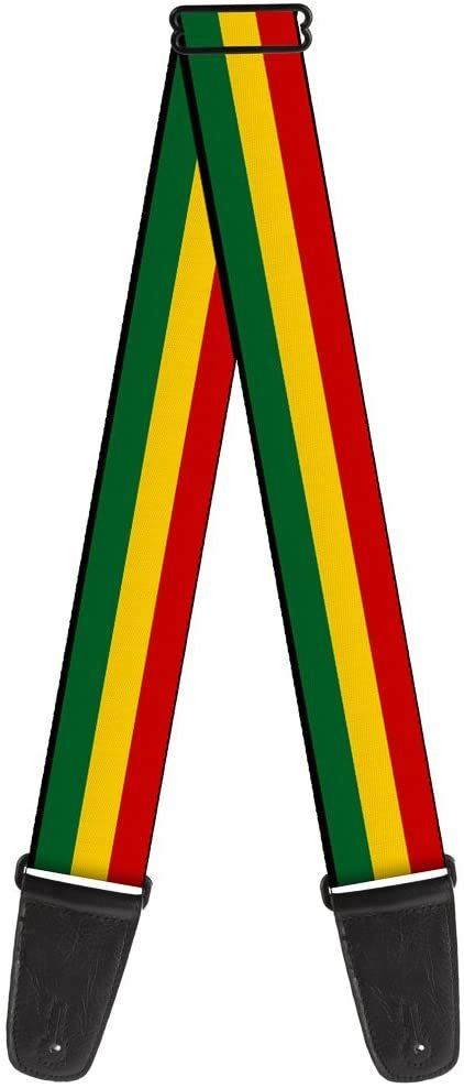 Guitar Strap Rasta 2 Inches Wide
