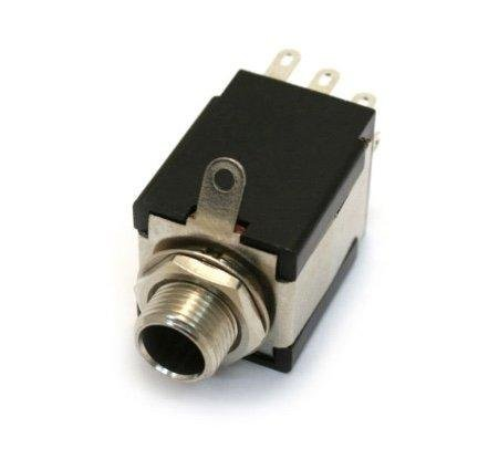 Fender Output Jack with Battery Switching Pin for Electric Guitar