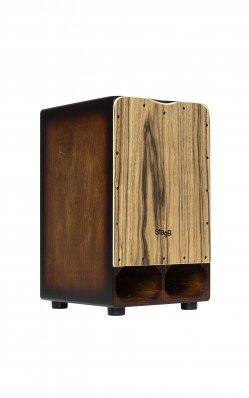 Stagg Cannon Cajon with Extra Bass Punch - CAJ-CANNON-EB