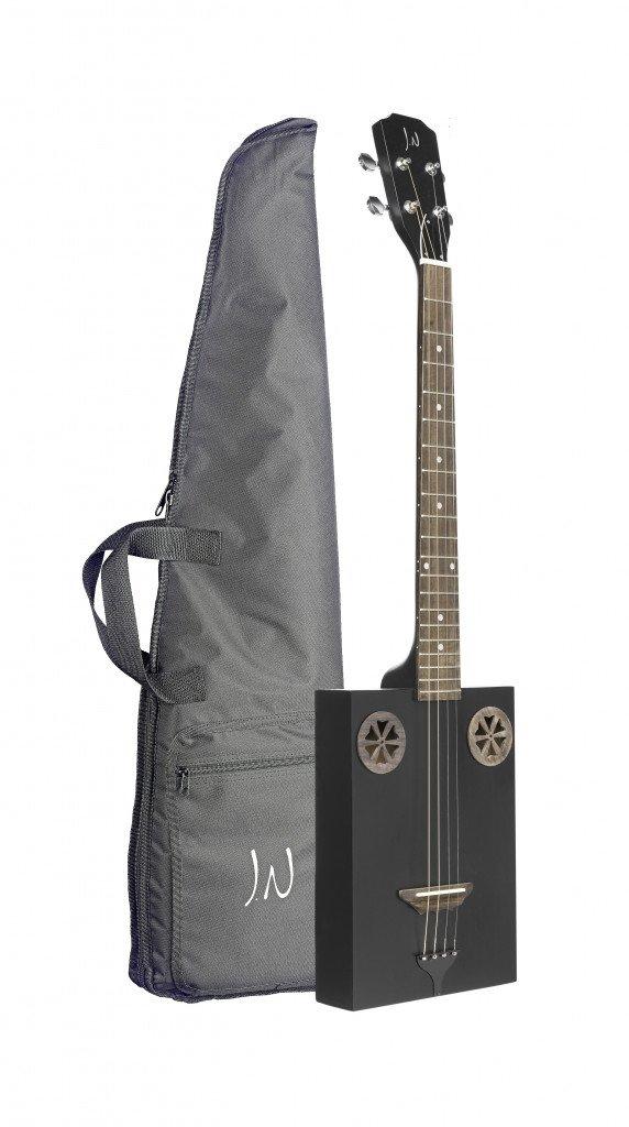 JN Guitars Series 4 String Acoustic Guitar, Right, Cask Coal, Full FIRKCOAL