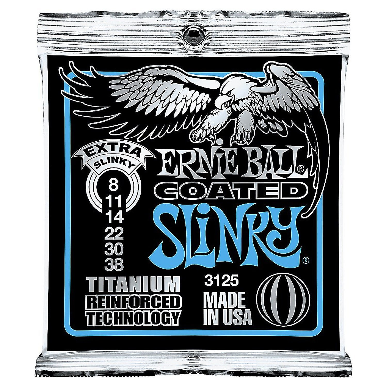 Ernie Ball 3125 Coated Electric Extra Slinky Guitar Strings