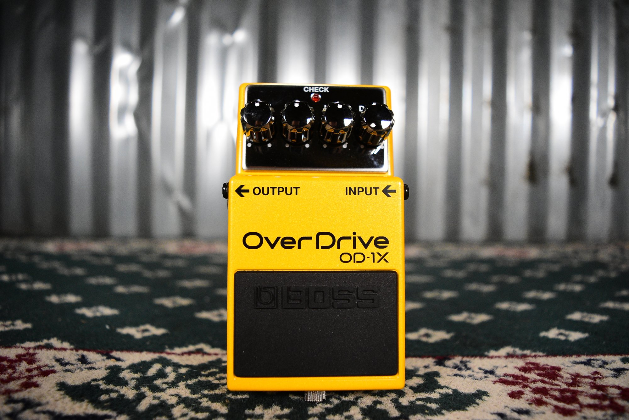 Boss OD-1X Overdrive Pedal - Floor Model