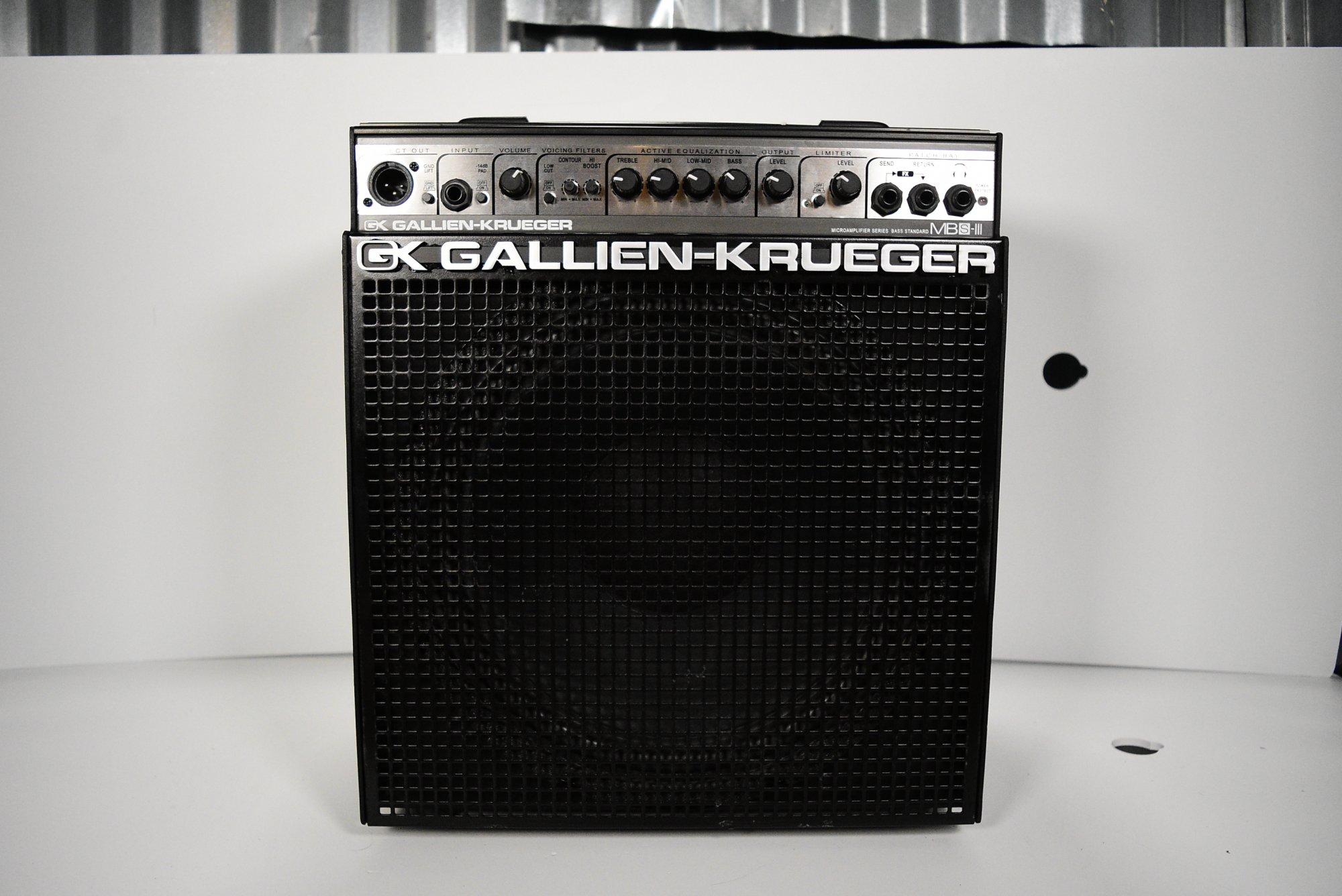 Gallien-Krueger MB150S/112 MicroBass 1x12 150-Watt Bass Combo