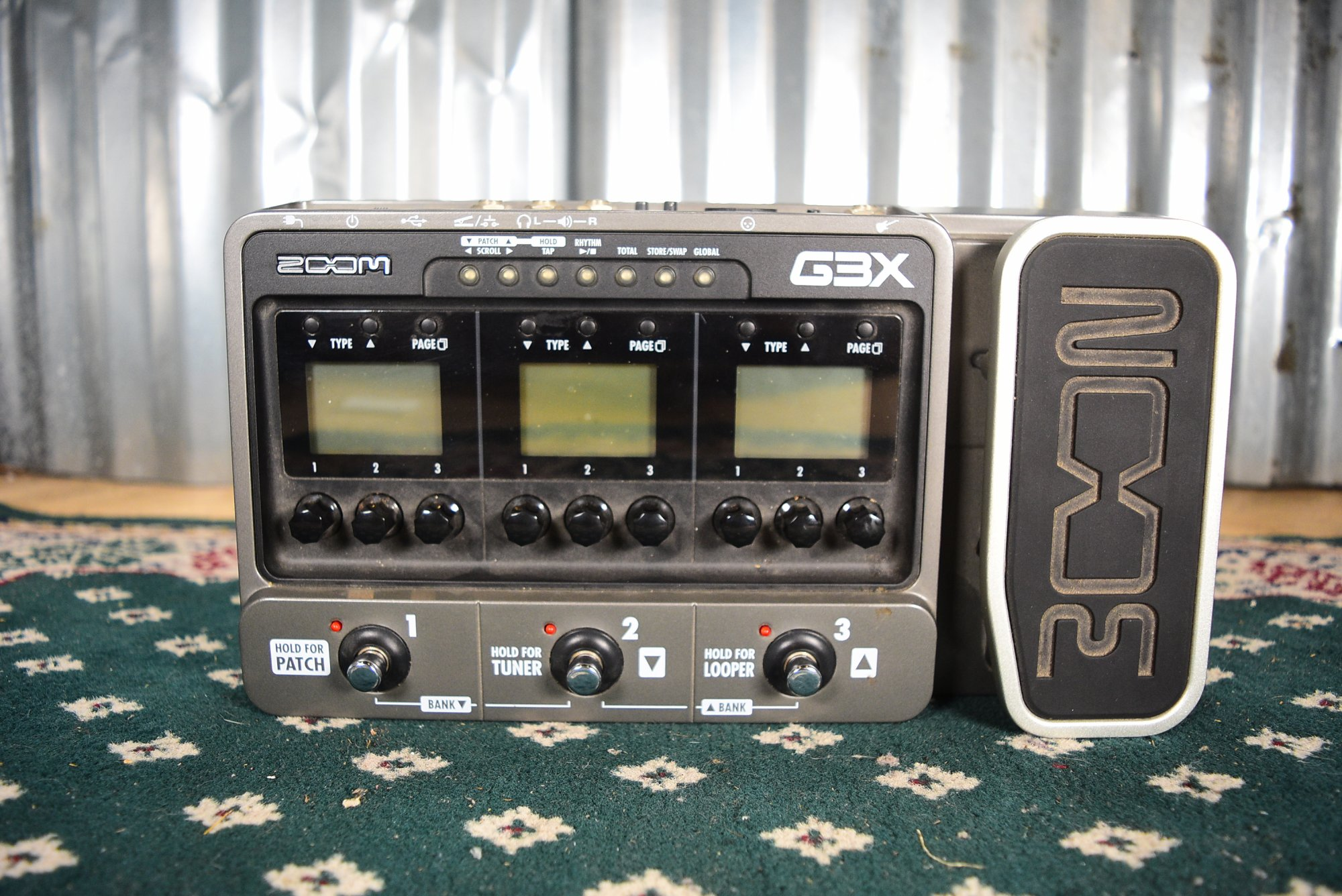Zoom G3X Guitar Multi Effects Pedal
