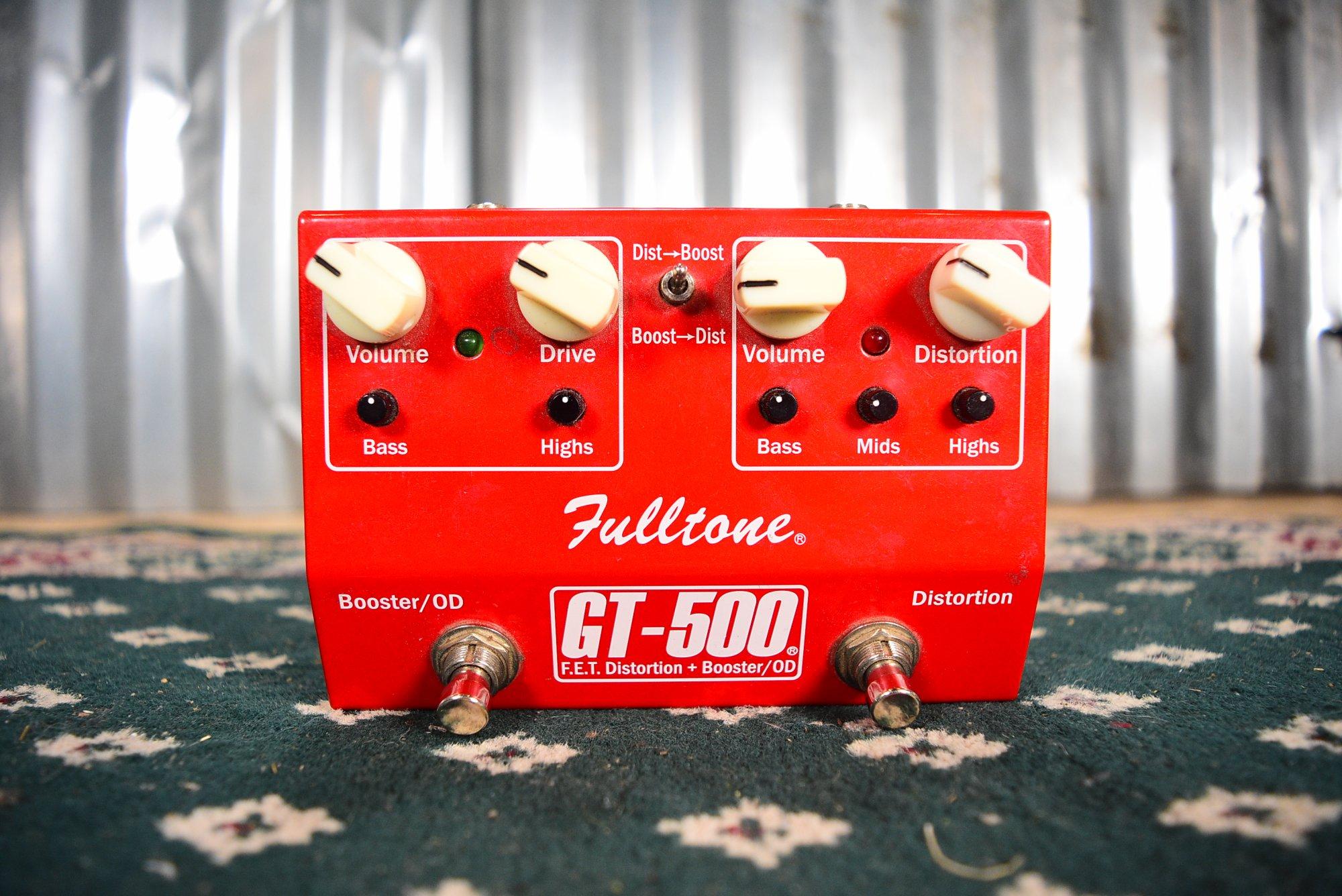 Fulltone GT-500 FET Distortion + Booster/OD