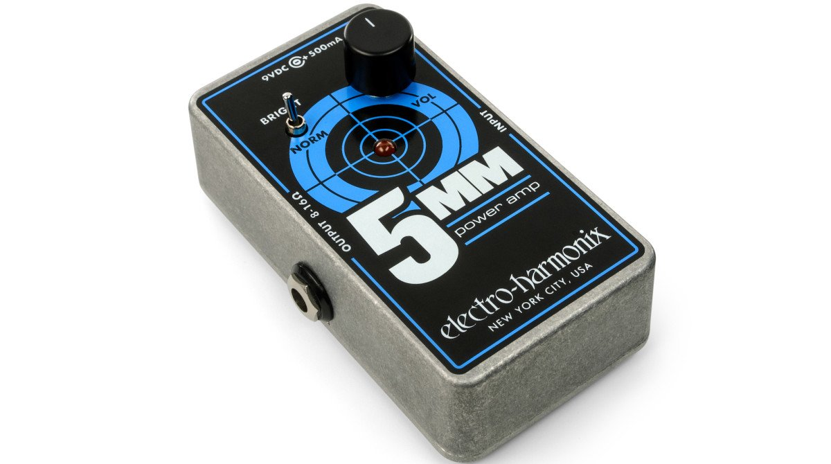 Electro-Harmonix 5MM 2.5-watt Power Amp Pedal