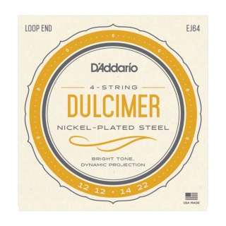 D'addario 4-String Dulcimer Nickel Strings
