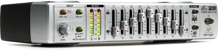 Behringer MINIFBQ FBQ800 9-Band Graphic Equalizer