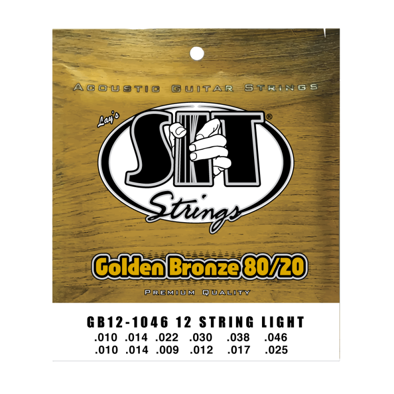 SIT Golden Bronze 80/20 12-String 10-46