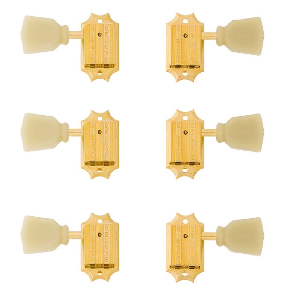 Gibson Accessories Vintage Tuning Machine Heads - Gold with Pearloid Buttons