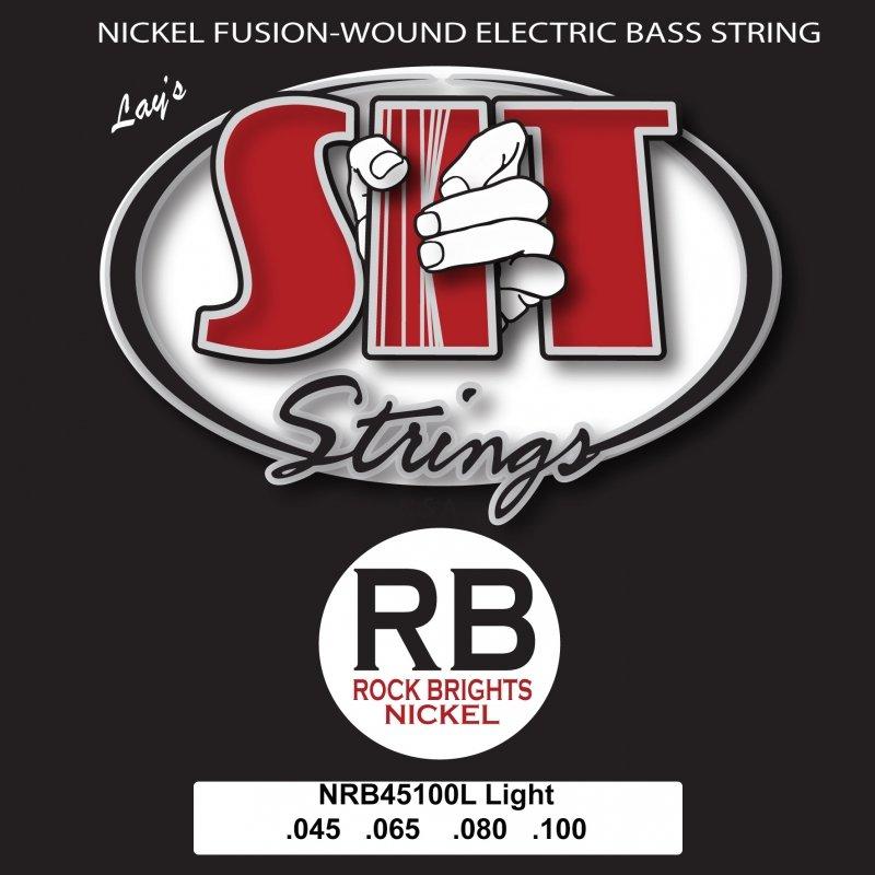 SIT Rock Brights Nickel Bass Strings 45-100