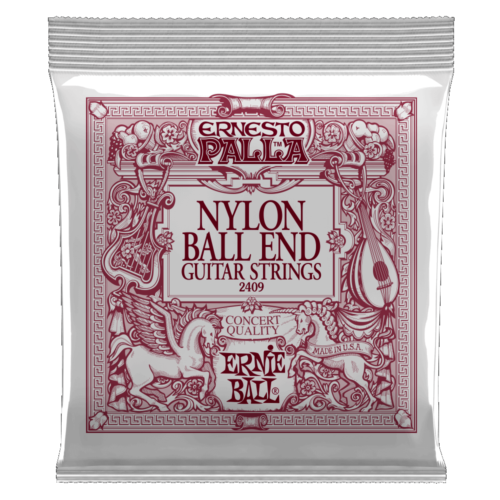 Ernie Ball P02409 Ernesto Palla Black and Gold Ball End Nylon Strings