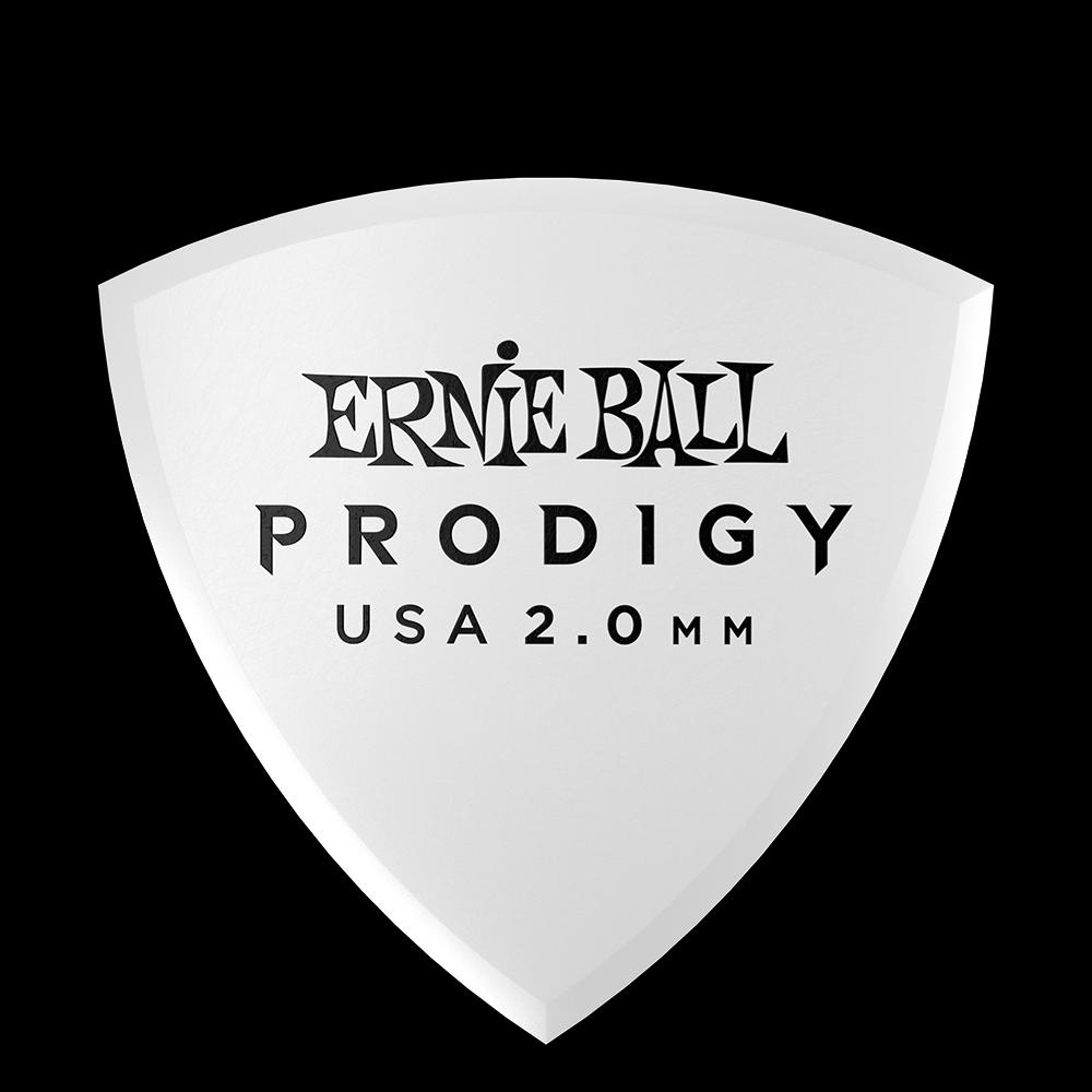 Ernie Ball 2.0mm White Shield Prodigy Guitar Picks