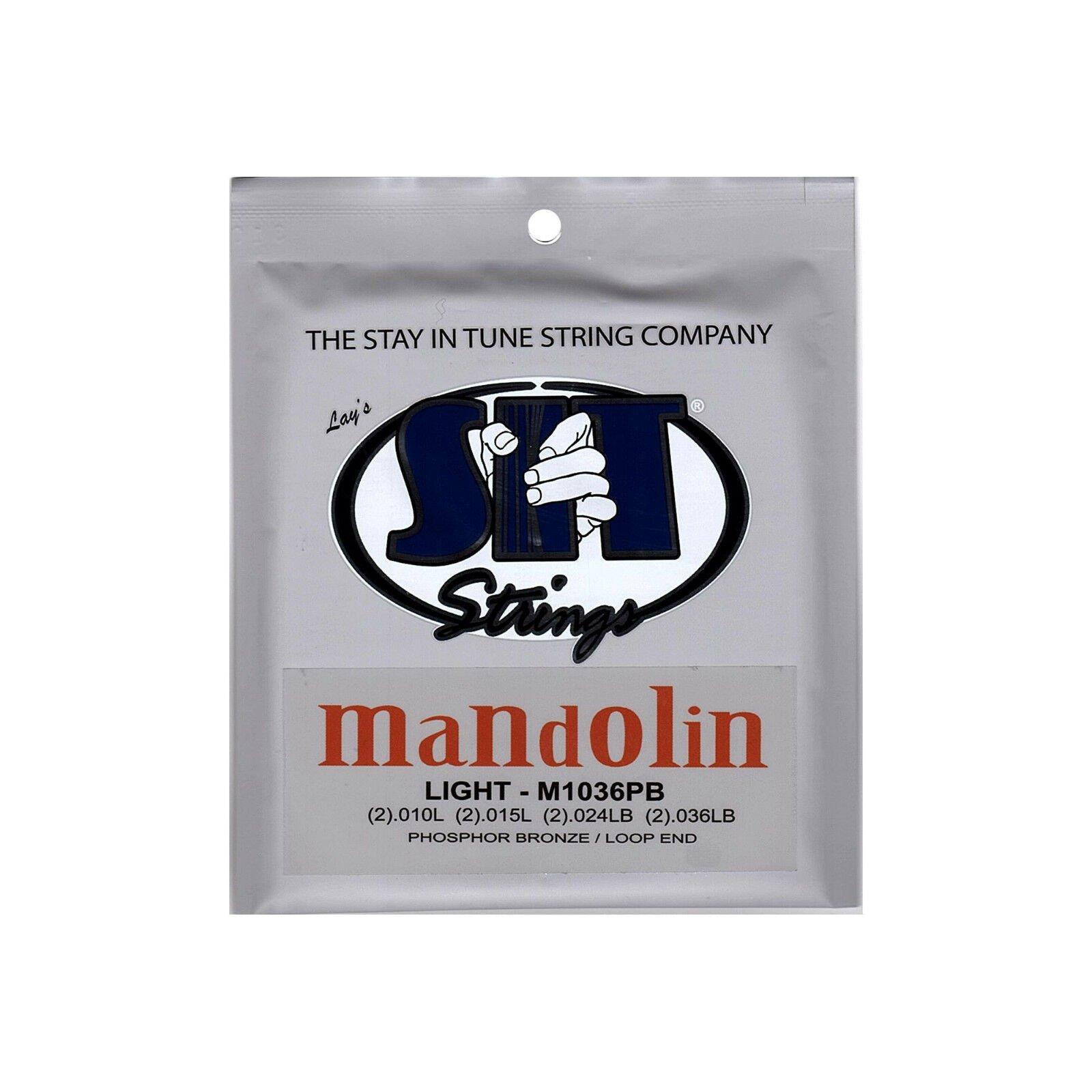 SIT Mandolin Strings Looped End Phosphor Bronze Light M1036PB
