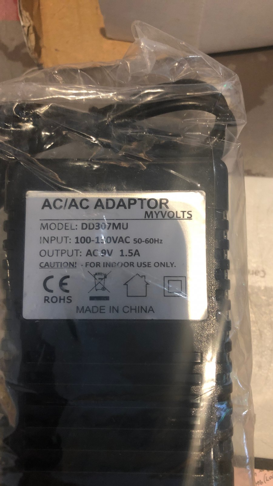 AC 9V 1.5A