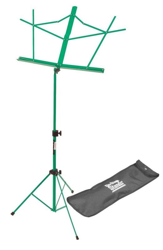 Compact Sheet Music Stand (Green w/ Bag)