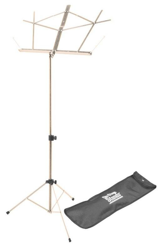 Compact Sheet Music Stand (Nickel w/ Bag)