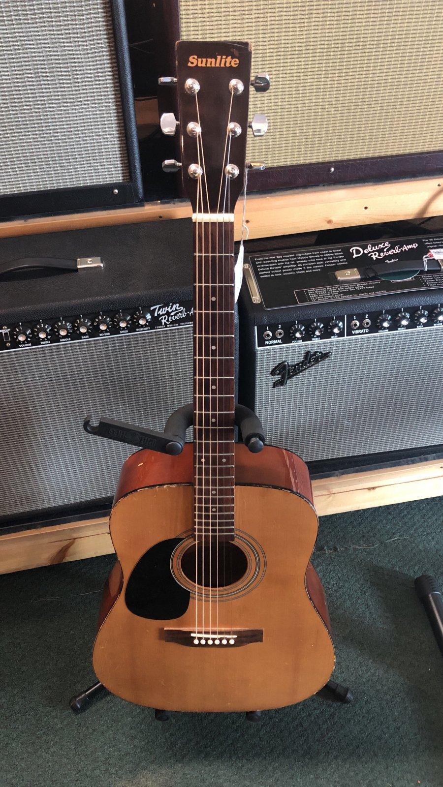 Sunlite Acoustic Guitar