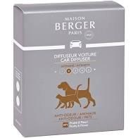 Maison Berger Paris (Lampe Berger) Car Diffuser Refill Anti Pet Odor 2pk