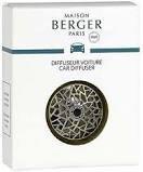 Maison Berger Paris (Lampe Berger) Car Diffuser Vent Clip Graphic Nickel