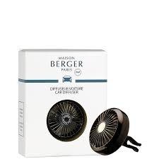 Maison Berger Paris (Lampe Berger) Car Diffuser Vent Clip Gun Metal Wheel