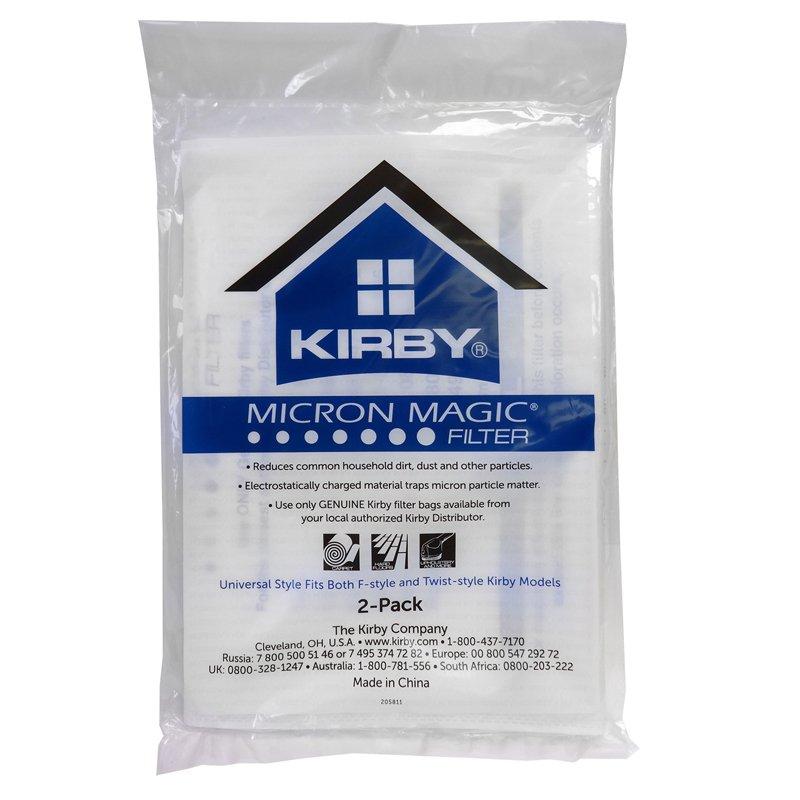 KIrby 2pk HEPA Micron Magic
