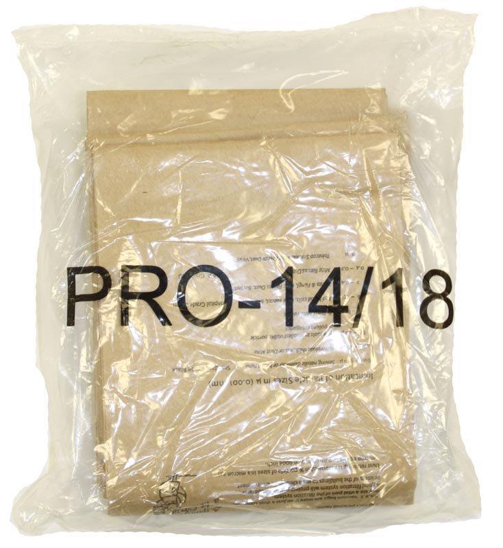 Oreck PK10PRO14DW 10pk HypoAllergenic Bags