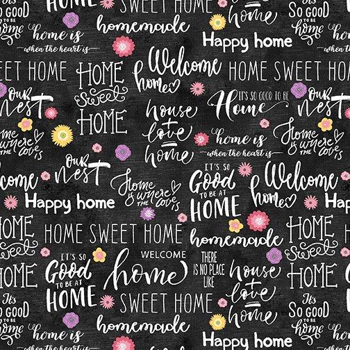 Home Sweet Words Slate/Multi