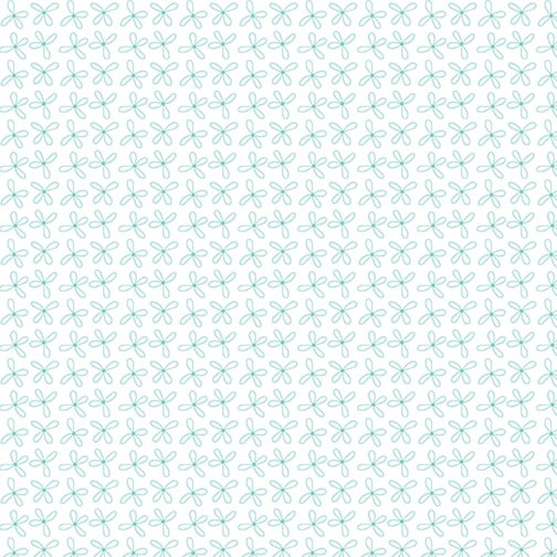 Loopy Daisy Light Turquoise