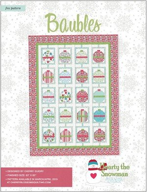 Hearty The Snowman Baubles Kit