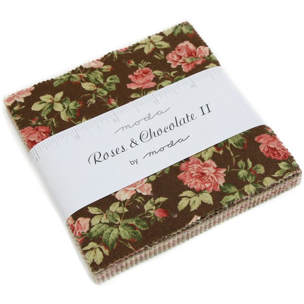 Roses and Chocolate II Charm Pack