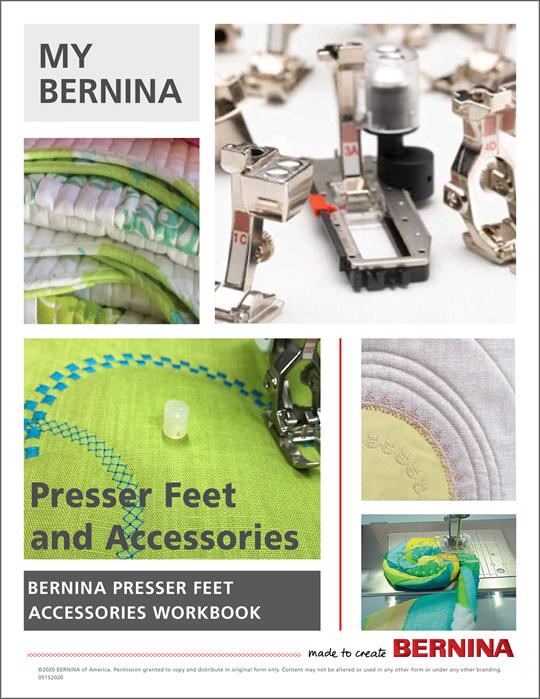 My BERNINA Accessory Mastery Workbook