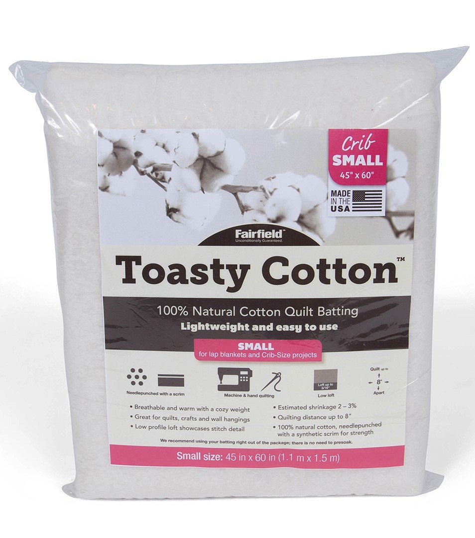 Toasty Cotton Batting Crib