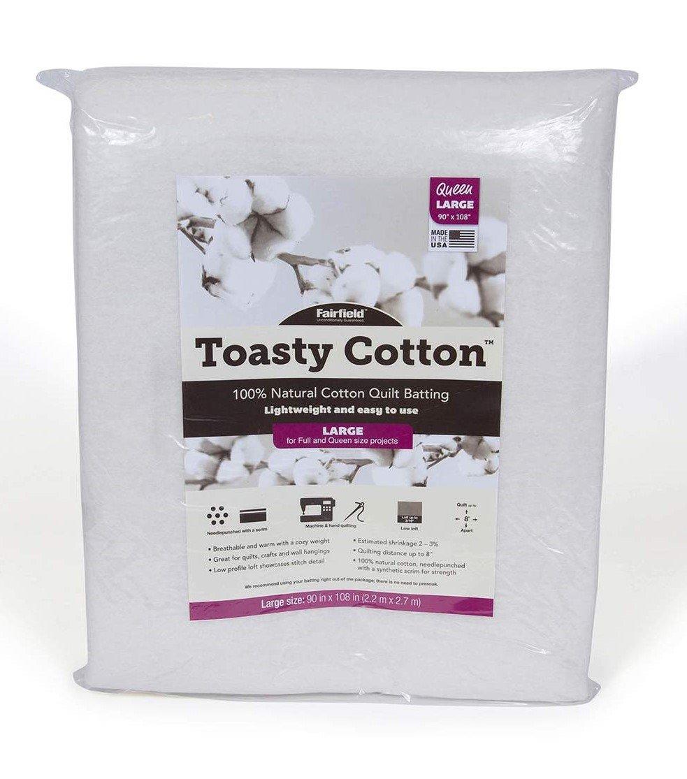 Toasty Cotton Batting Queen