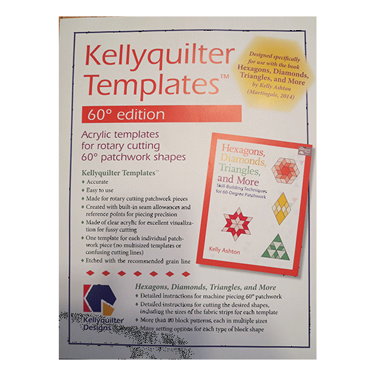 Kellyquilter Templates 60 Degree Edition