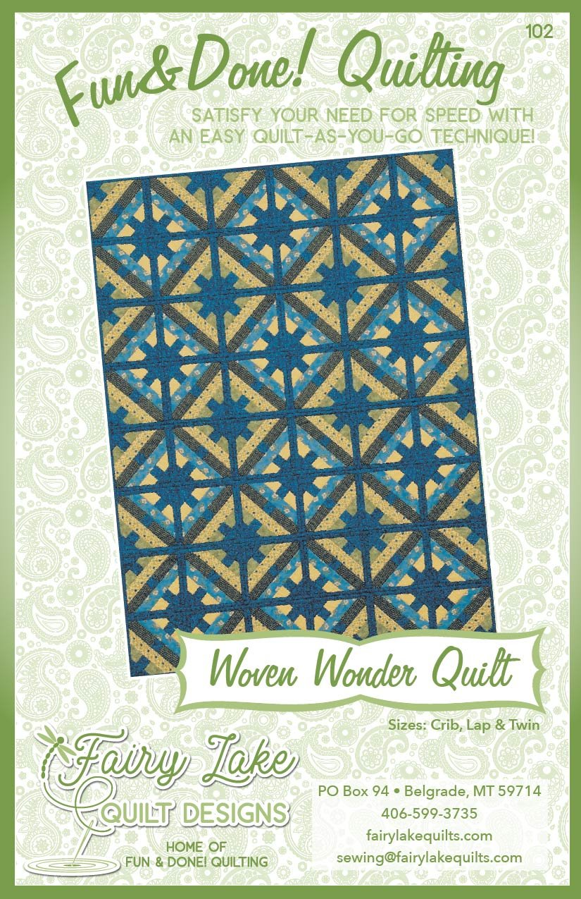 Digital Woven Wonder Quilt | Fun & Done Quilting | 102