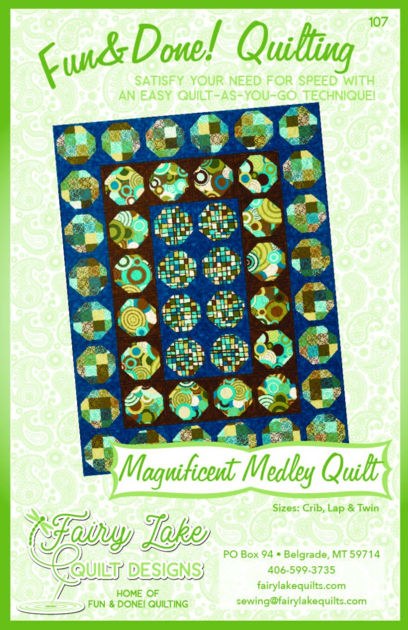 Digital Magnificent Medley Quilt | Fun & Done | 107