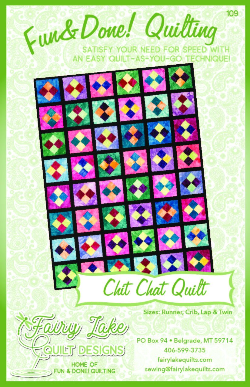 Digital Chit Chat Quilt | Fun & Done Quilting | 109
