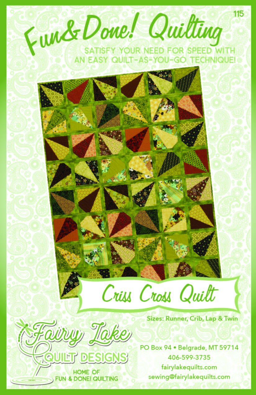 Criss Cross Quilt | Fun & Done Quilting | 115