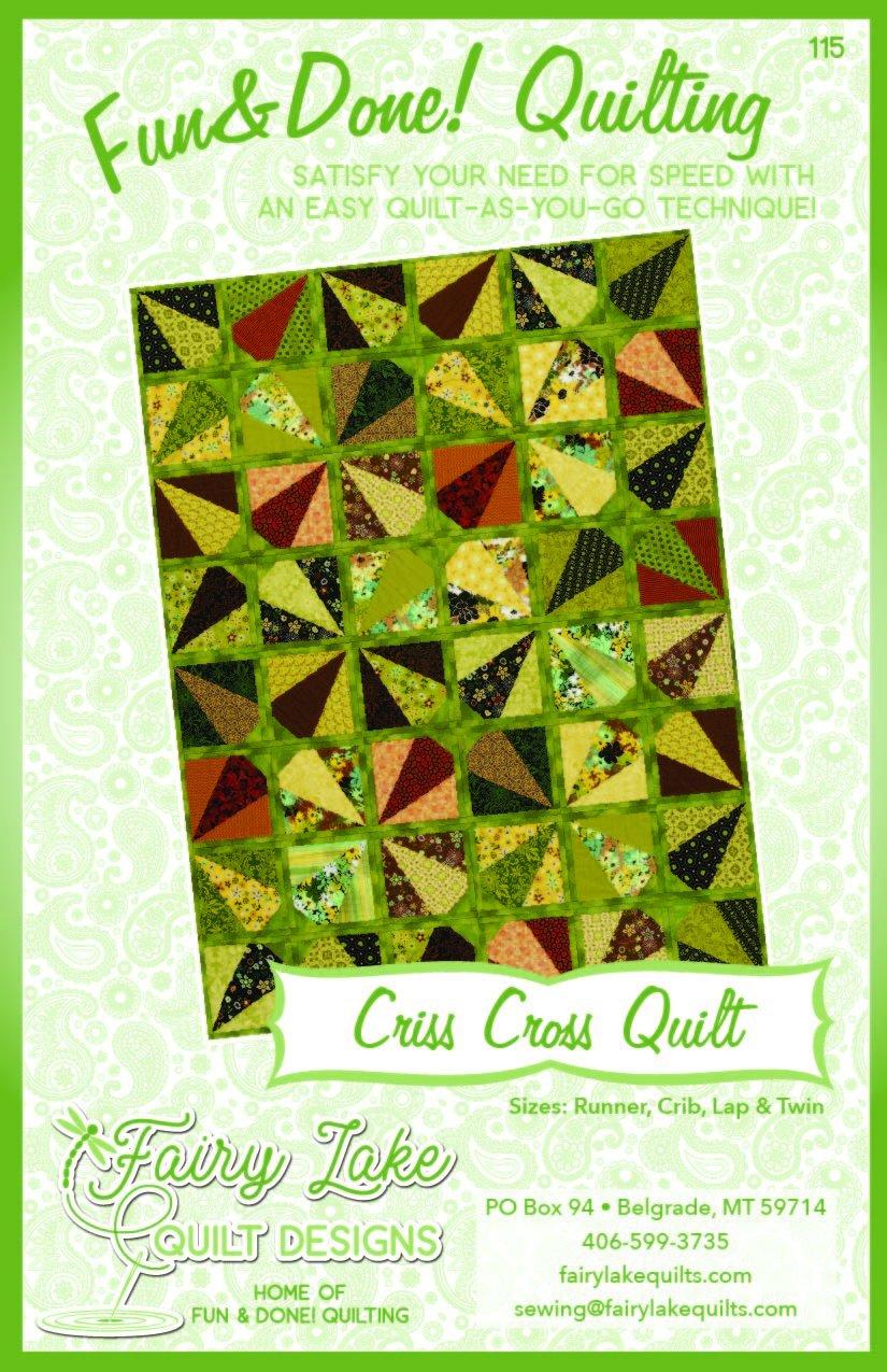 Digital Criss Cross Quilt | Fun & Done Quilting | 115