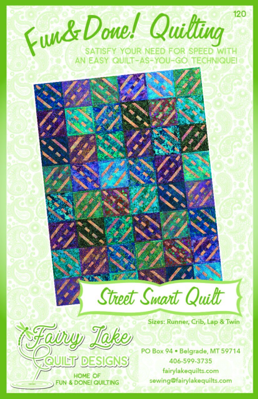 Street Smart Quilt | Fun & Done Quilting | 120