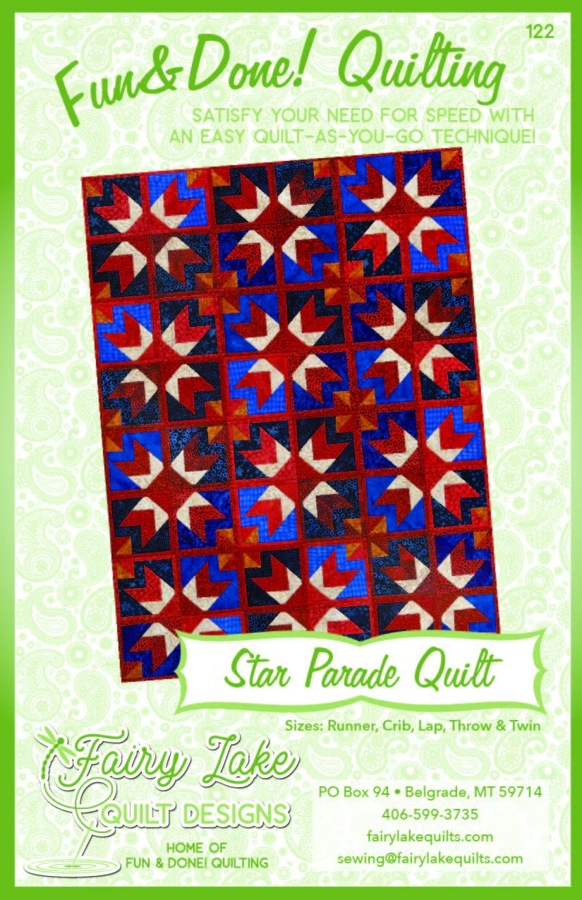 Star Parade Quilt | Fun & Done Quilting | 122
